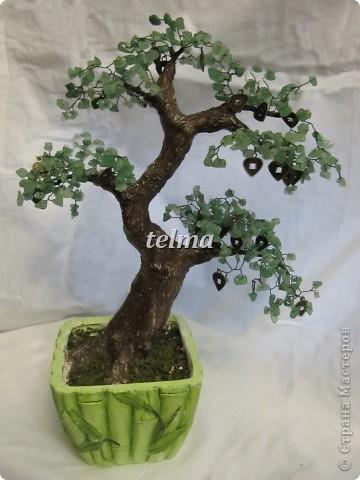 "дерево из камня ""нефрит"" фото 1"