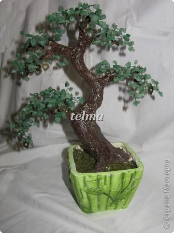 "дерево из камня ""нефрит"" фото 2"