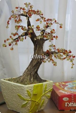 "дерево из камня ""нефрит"" фото 3"