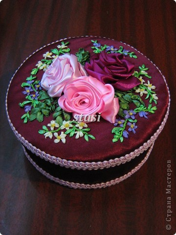 Шкатулка с розами фото 1