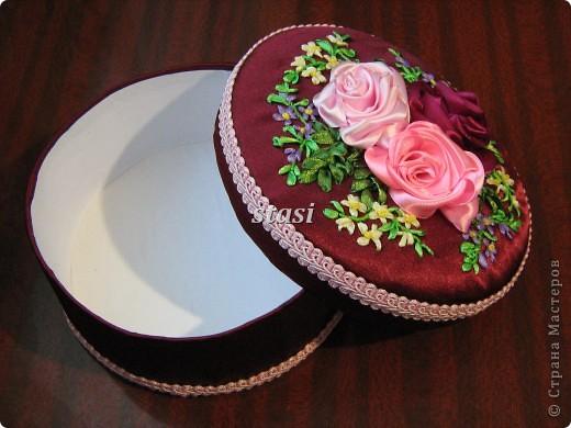 Шкатулка с розами фото 3