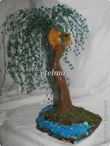 "дерево из камня ""нефрит"" фото 4"