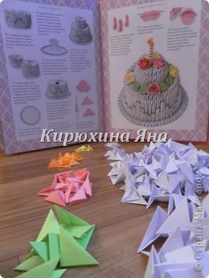 Тортик и поздравительная открытка фото 2