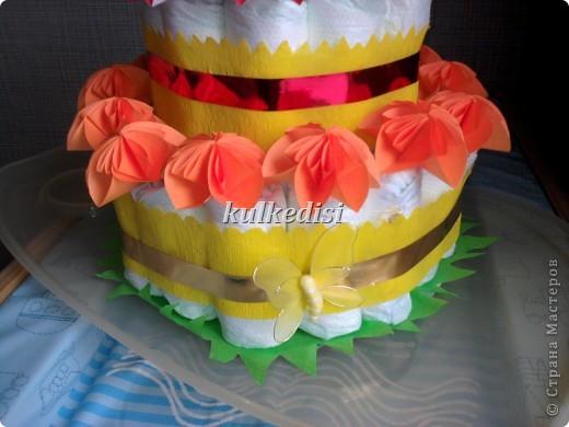Поводом для создания такого тортика послужил день рождения младшей племянницы(ей скоро полгодика!). фото 2