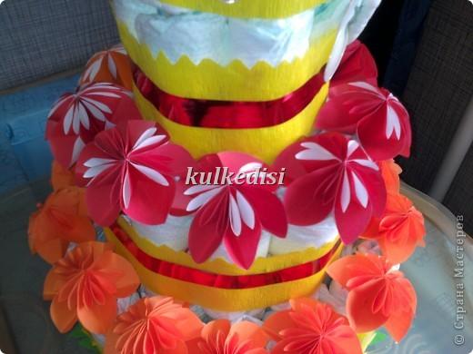 Поводом для создания такого тортика послужил день рождения младшей племянницы(ей скоро полгодика!). фото 3