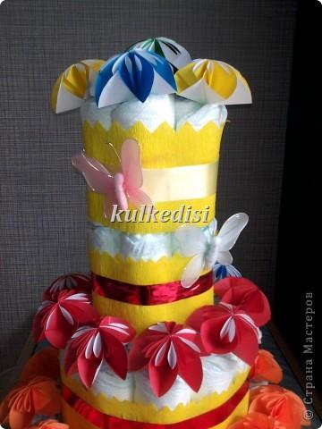 Поводом для создания такого тортика послужил день рождения младшей племянницы(ей скоро полгодика!). фото 4