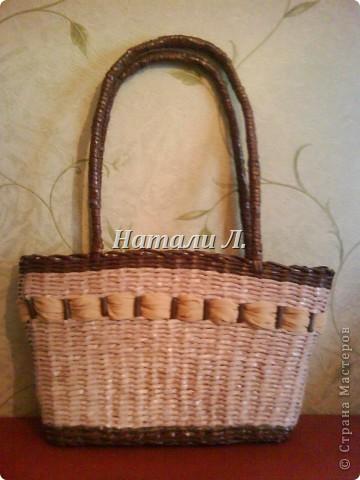 сумка - плетенка фото 2