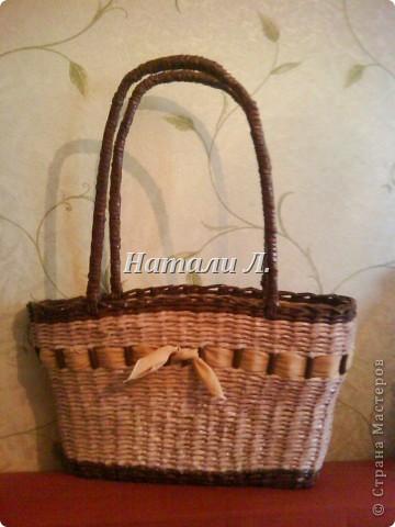 сумка - плетенка фото 3