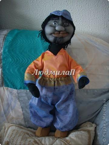 Голова для куклы.Глазки-бусинки. фото 10