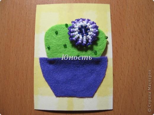 Спасибо огромное Машеньке (Бригантина) за МК по цветочкам http://stranamasterov.ru/node/207218, именно они сподвигли меня на эту цветущую коллекцию!!! Машенька выбирай, если какой-то из кактусят приглянулся. фото 4