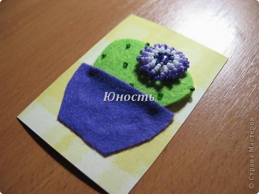 Спасибо огромное Машеньке (Бригантина) за МК по цветочкам http://stranamasterov.ru/node/207218, именно они сподвигли меня на эту цветущую коллекцию!!! Машенька выбирай, если какой-то из кактусят приглянулся. фото 5