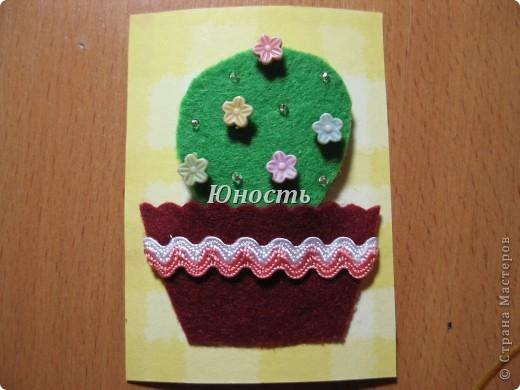 Спасибо огромное Машеньке (Бригантина) за МК по цветочкам http://stranamasterov.ru/node/207218, именно они сподвигли меня на эту цветущую коллекцию!!! Машенька выбирай, если какой-то из кактусят приглянулся. фото 8