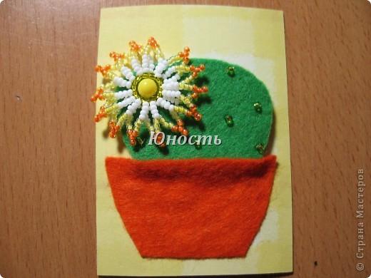 Спасибо огромное Машеньке (Бригантина) за МК по цветочкам http://stranamasterov.ru/node/207218, именно они сподвигли меня на эту цветущую коллекцию!!! Машенька выбирай, если какой-то из кактусят приглянулся. фото 10