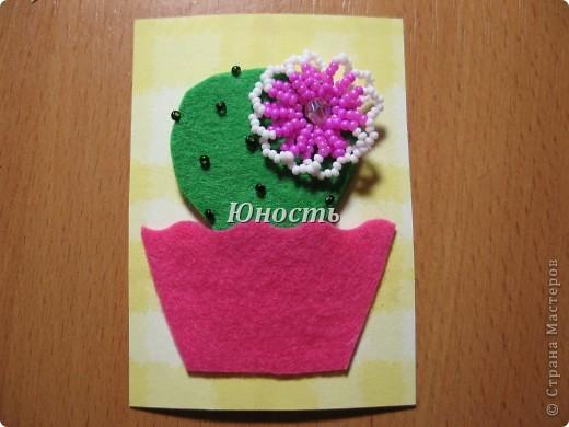 Спасибо огромное Машеньке (Бригантина) за МК по цветочкам http://stranamasterov.ru/node/207218, именно они сподвигли меня на эту цветущую коллекцию!!! Машенька выбирай, если какой-то из кактусят приглянулся. фото 12
