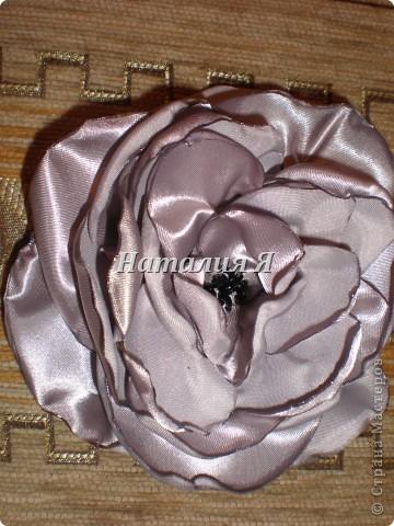 Мои цветочки из ткани фото 3
