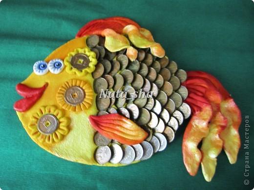 """""""Богатая"""" рыбка Лепка из соленого теста захватила своей простотой и положительными эмоциями  фото 1"""