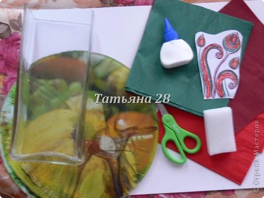 Сегодня мы будим украшать вазу в технике Папье маше. фото 2