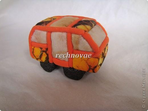 """Елочная игрушка """"Микроавтобус"""", сделанная на днях для помешанного на общественном транспорте старшего ребенка фото 2"""