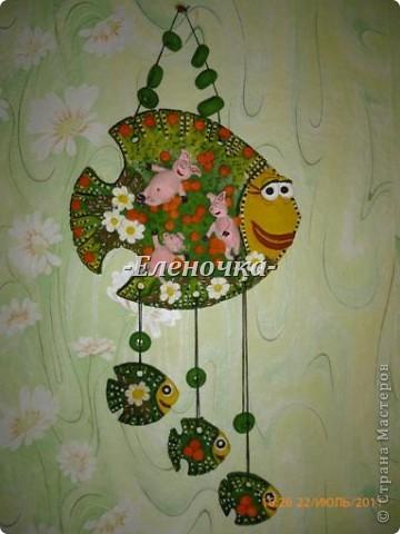 Моя версия рыбки получилась вот такая вот)))Спасибо за идею Люсинэ!!! фото 1