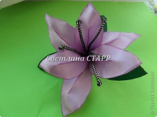 Наконец-то я научилась делать лилию. фото 2