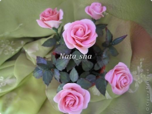 Никогда не думала , что лепить розы - это так увлекательно! А дарить их - так упоительно... фото 6