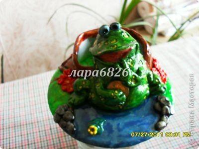жабка,подставка для телефона.(вспышка) фото 2
