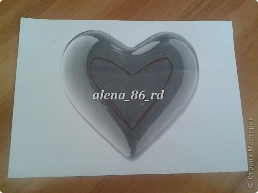 Вот такое яркое и страстное сердце я сделала! Подойдет как подарок на День Св.Валентина или просто как знак внимания любимому человку. фото 2