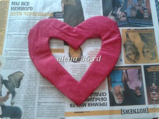 Вот такое яркое и страстное сердце я сделала! Подойдет как подарок на День Св.Валентина или просто как знак внимания любимому человку. фото 7