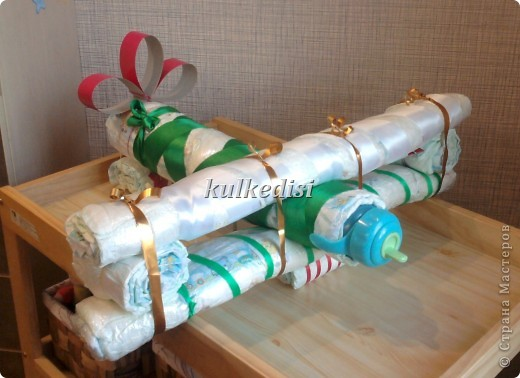 Подарки из памперсов своими руками пошаговое