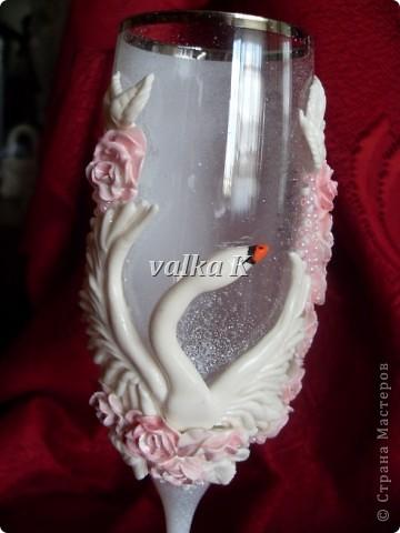 Вдохновила на создание лебедей Саровочка.Большое спасибо!!! фото 7