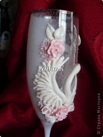 Вдохновила на создание лебедей Саровочка.Большое спасибо!!! фото 6