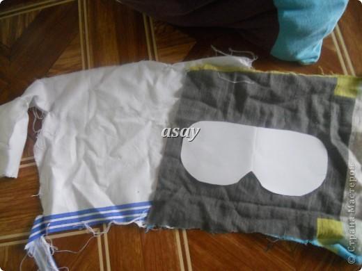 очки для сна из ткани фото 3