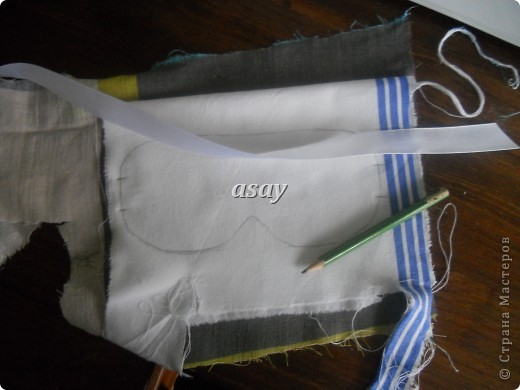 очки для сна из ткани фото 5