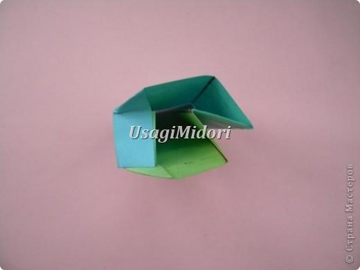 Как сделать маленькую подарочную коробочку. фото 13