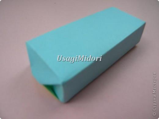 Как сделать маленькую подарочную коробочку. фото 18
