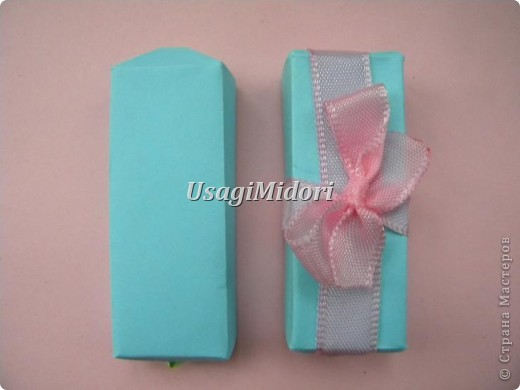 Как сделать маленькую подарочную коробочку. фото 19