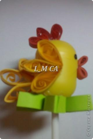 цыпленок (сувенир на палочке) фото 2