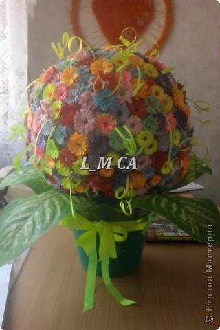 диво-цветочный шар