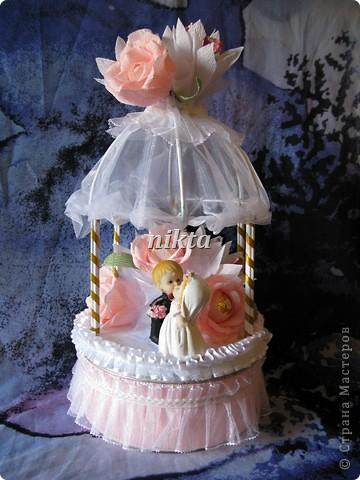 Подарок молодоженам - свадебная беседка фото 1
