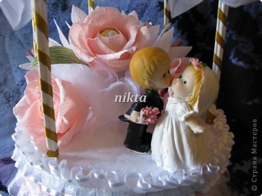 Подарок молодоженам - свадебная беседка фото 2
