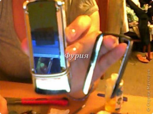 МК Чтоделать со старым телефоном, или фен вам в руки! фото 2