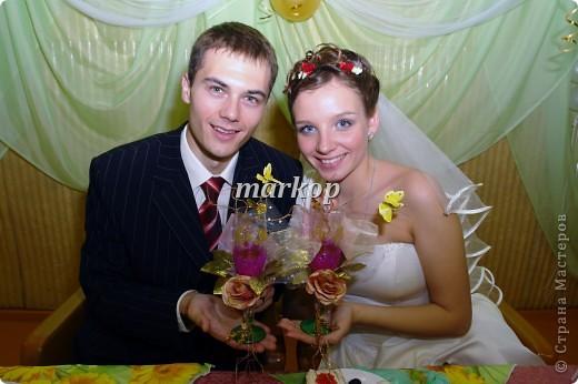 мои свадебные бокалы фото 1