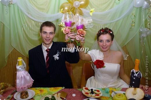 мои свадебные бокалы фото 2