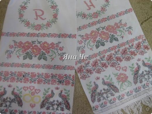 Рушник на свадьбу фото 2