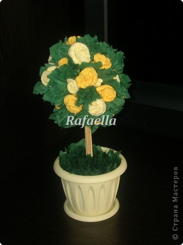 Мои первые деревья из роз....))    фото 3