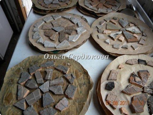 Решила и я сделать плитку своими руками по МК http://stranamasterov.ru/node/211075?c=favorite  фото 10