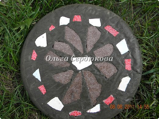 Решила и я сделать плитку своими руками по МК http://stranamasterov.ru/node/211075?c=favorite  фото 2