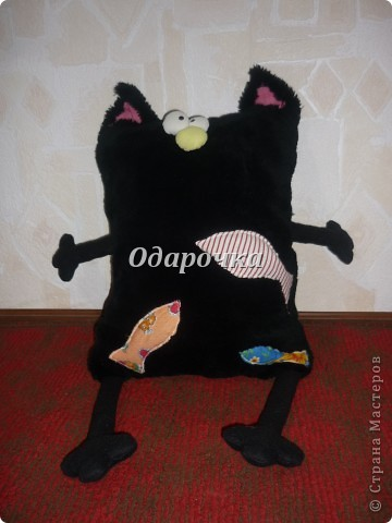 Подушка-Кот!!! фото 1