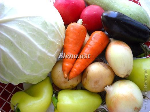 Домляма или овощное рагу в собственном соку. Домляма - диетическое блюдо, содержит полный набор полезных продуктов. Воду и масло не подливаем. Вкус отменный, ароматы во время приготовления способствуют отличному выделению желудочного сока. Это блюдо оценят по достоинству те, кто не любит стоять у плиты. Все овощи нарезали, заложили в кастрюлю, обязательно накрыть крышкой и пусть себе томятся на тихом огне. При копировании статьи, целиком или частично, пожалуйста, указывайте активную ссылку на источник! http://stranamasterov.ru/user/9321 http://stranamasterov.ru/node/225037 фото 2