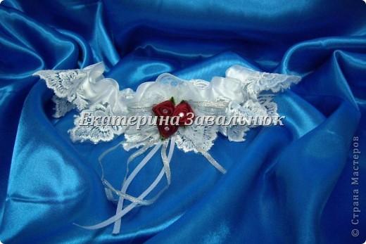 Подвязка для невесты фото 2